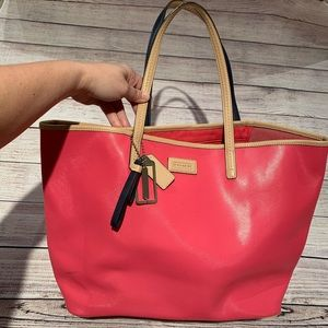 Coach Hot Pink Tote Purse